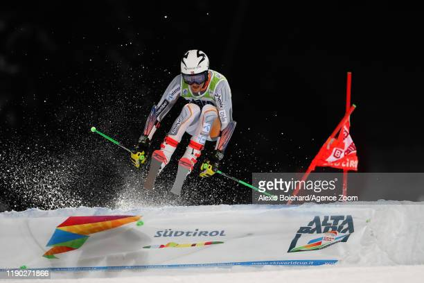 Rasmus Windingstad of Norway competes during the Audi FIS Alpine Ski World Cup Men's Parallel Giant Slalom on December 23, 2019 in Alta Badia Italy.