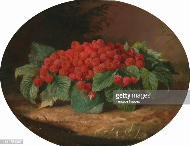 Raspberries, c. 1859. Artist Lilly Martin Spencer.