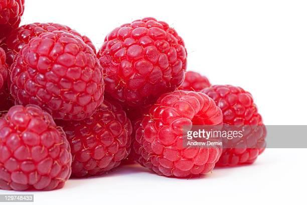 raspberries - andrew dernie foto e immagini stock