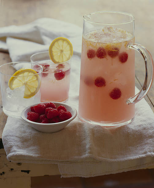 Raspberry Lemoncello Sangria