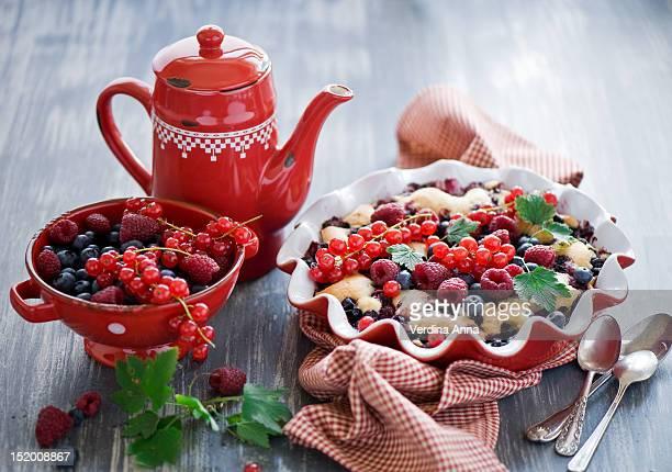 raspberry pie - anna verdina stock photos and pictures
