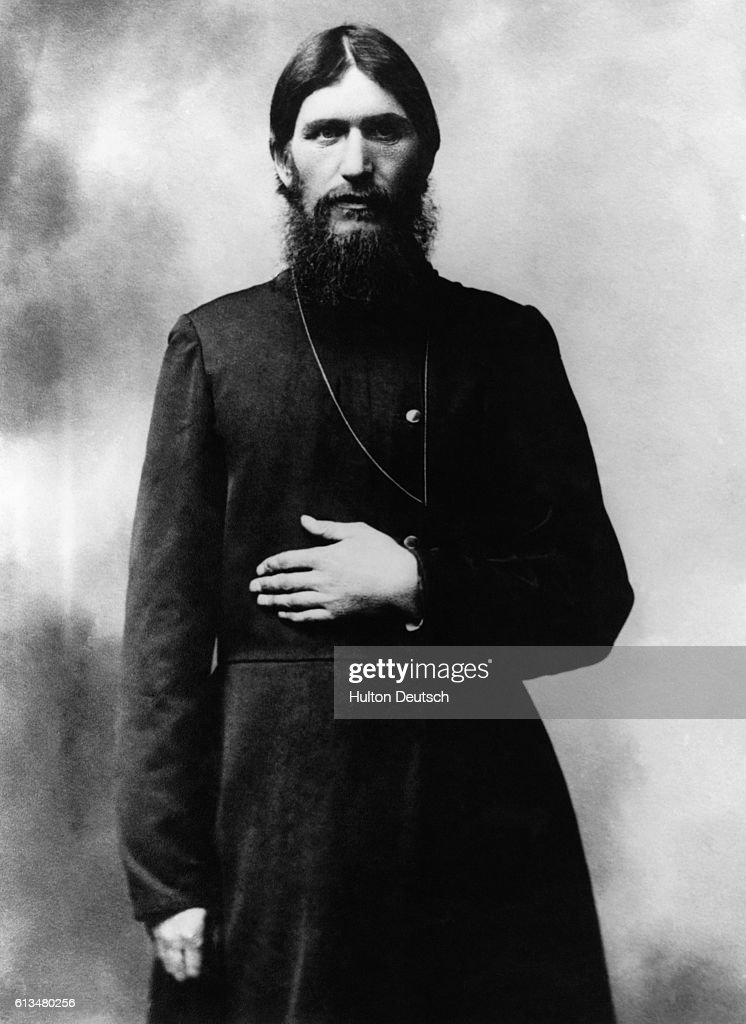 Grigori Rasputin (c. 1872-1916), the mysterious Russian starets who treated czar Nicholas II's son for hemophilia. : News Photo