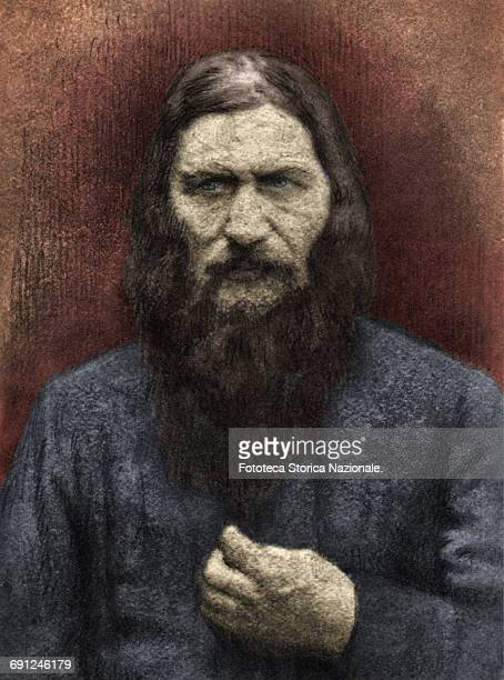 Rasputin portrait rare photo with manual retouching was made shortly before his assassination which occurred on December 30 1916 The Empress had him...