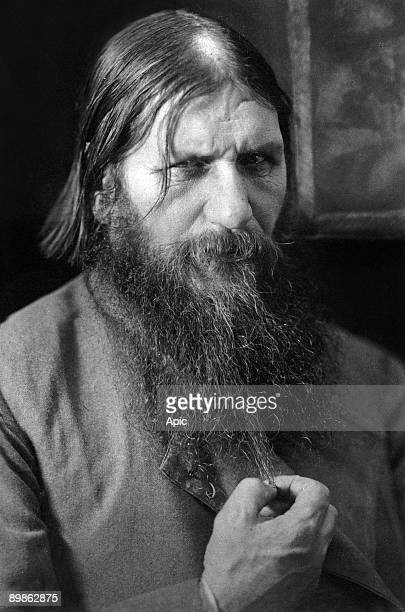 Rasputin russian adventurer healer of czarevitch protege of the czarina he was murdered by prince Ioussoupov here in 1916
