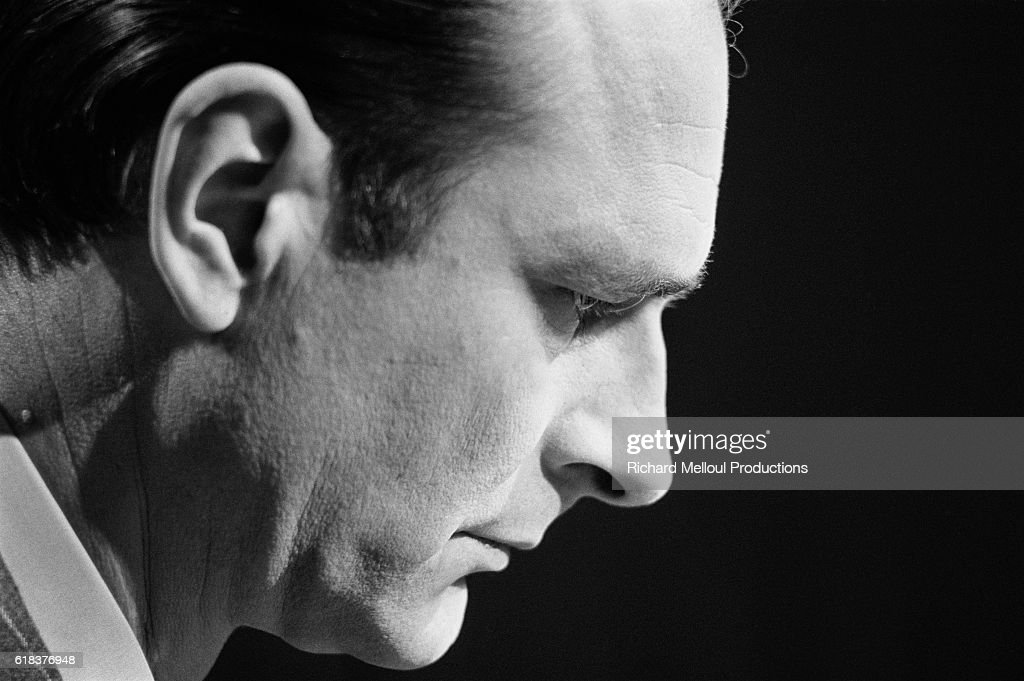 Jacques Chirac in Television Appearance : Nachrichtenfoto