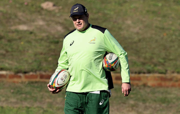ZAF: South Africa Training Session