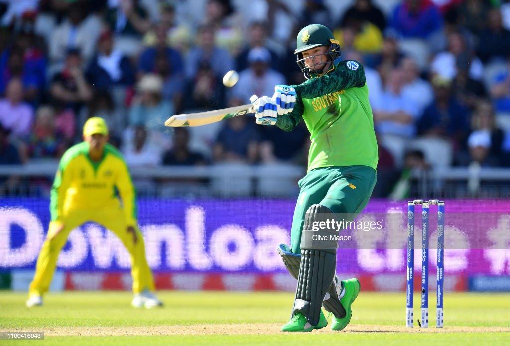 Australia v South Africa - ICC Cricket World Cup 2019 : News Photo