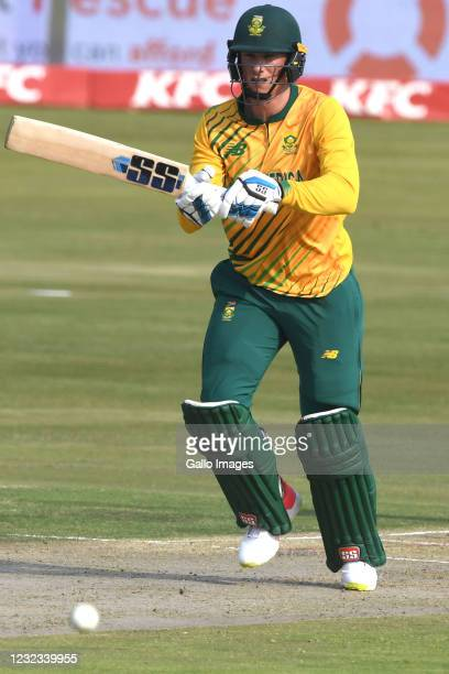 Rassie van der Dussen of the Proteas during the 3rd Betway ODI between South Africa and Pakistan at SuperSport Park on April 16, 2021 in Pretoria,...