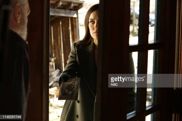 THE BLACKLIST Rassvet Episode 619 Pictured Brian Dennehy as Dom Megan Boone as Elizabeth Keen