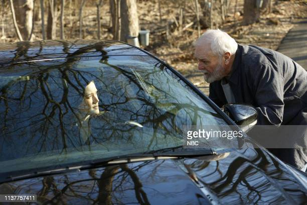 THE BLACKLIST Rassvet Episode 619 Pictured Megan Boone as Elizabeth Keen Brian Dennehy as Dom