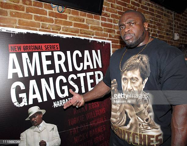 Rasta during BET Hosts Screening of American Gangster at Cinespace in Los Angeles CA United States