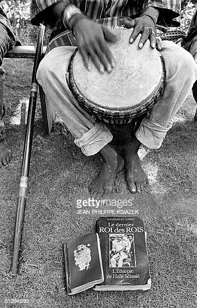 Rastafarian plays the djembe 24 January in Assouinde 90 km east of Abidjan The turbulent wave of political instability violence and xenophobia which...