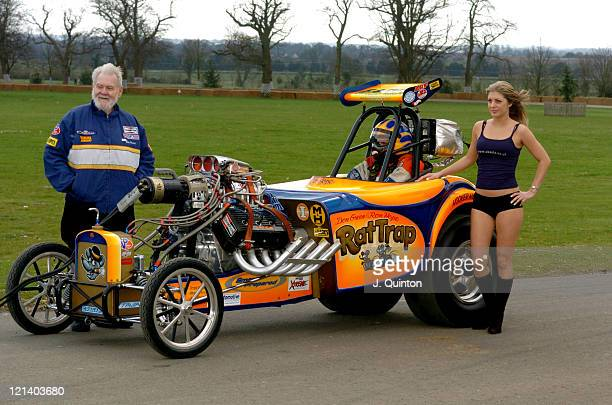 Rat Trap Dragster during The Opening Day Of Goodwood Races March 24 2004 at Goodwood Racecourse in Goodwood Great Britain