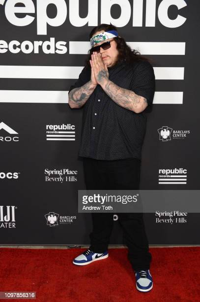 Ratcheton attends Republic Records Grammy after party at Spring Place Beverly Hills on February 10 2019 in Beverly Hills California