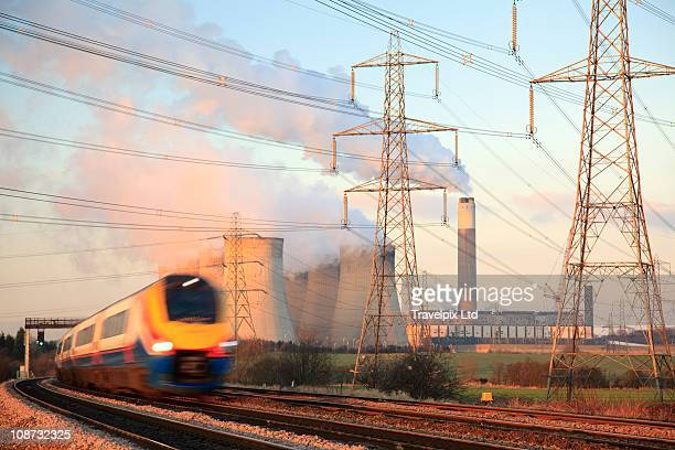 ratcliffe coal fired powered station - nottingham stock pictures, royalty-free photos & images