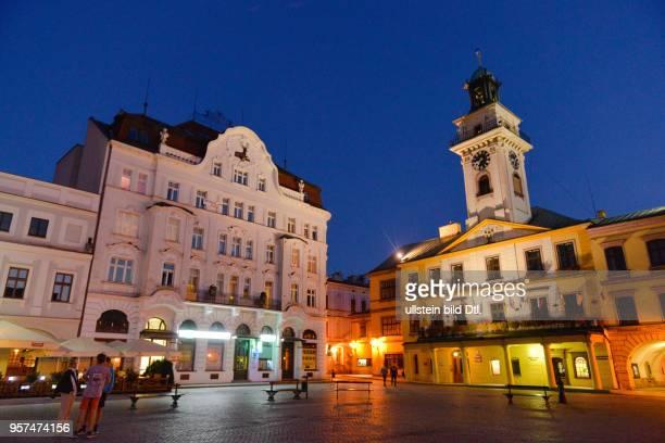 Rathaus Marktplatz Cieszyn Polen