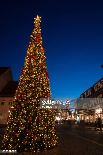rathaus spandau and christmas market - spandau stock pictures, royalty-free photos & images