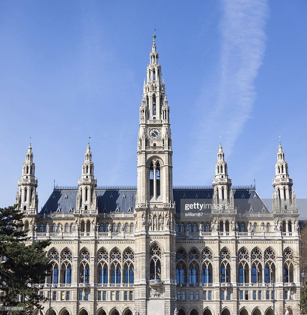 Rathaus 、ウィーン市庁舎ビル : ストックフォト
