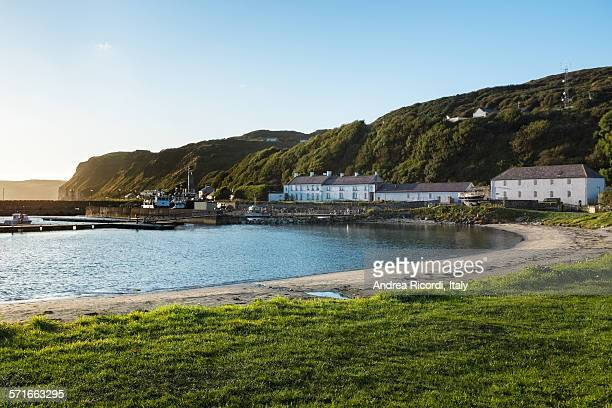 rathlin island bay, northern ireland - island stock pictures, royalty-free photos & images