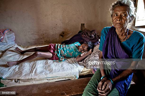 SRIMONGOL SYLHET DHAKA BANGLADESH Ratna lying on the bed has an immense emptiness in her eyes Her grandma Joymoni Gor told me that she is blind and...