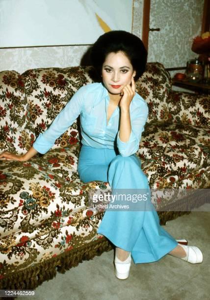Ratna Sari Dewi Sukarno in France, 1970s.