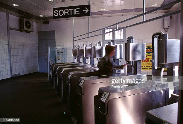 Ratp In Paris France In 1998 Station Antony