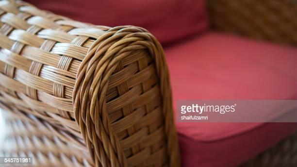 rattan chair - shaifulzamri foto e immagini stock