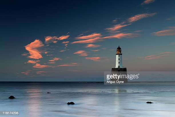 Rattray head lighthouse aberdeenshire scotland