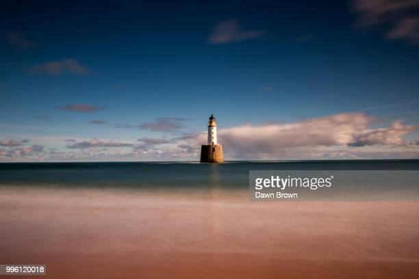 rattray head lighthouse - rattray head stock pictures, royalty-free photos & images