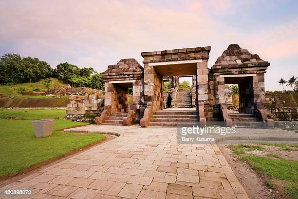 ratu boko temple - kraton stock pictures, royalty-free photos & images