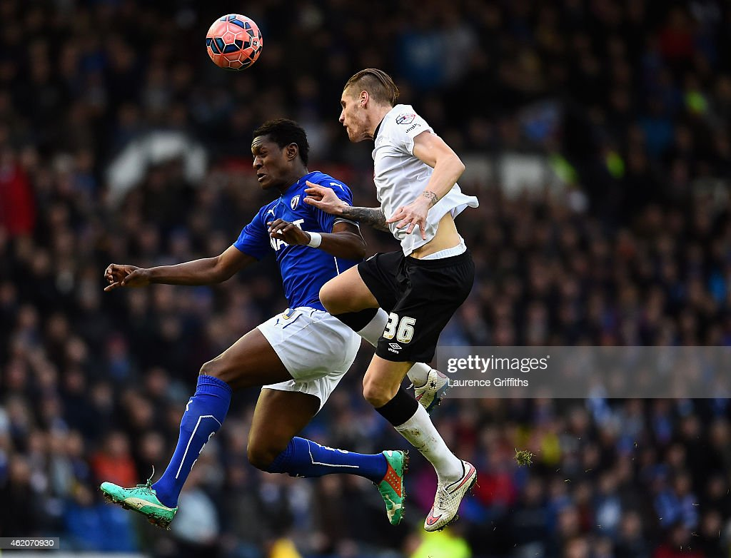 Derby County v Chesterfield - FA Cup Fourth Round : News Photo