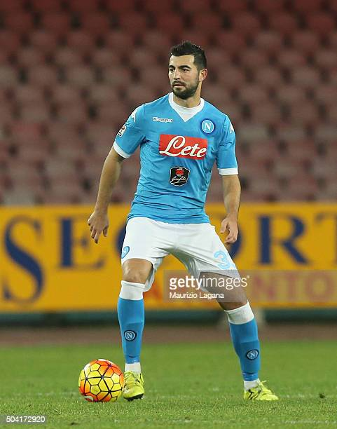 Raul Albiol of Napoli during the Serie A match between SSC Napoli and Torino FC at Stadio San Paolo on January 6 2016 in Naples Italy