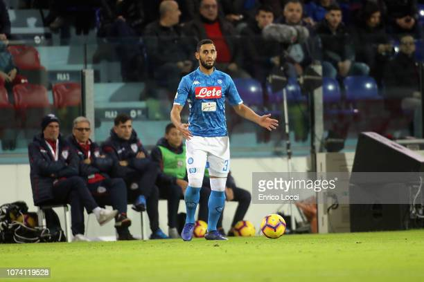 Raul Albiol of Napoli in action during the Serie A match between Cagliari and SSC Napoli at Sardegna Arena on December 16 2018 in Cagliari Italy