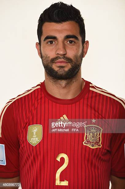Raul Albiol of Spain poses during the official Fifa World Cup 2014 portrait session on June 9, 2014 in Curitiba, Brazil.