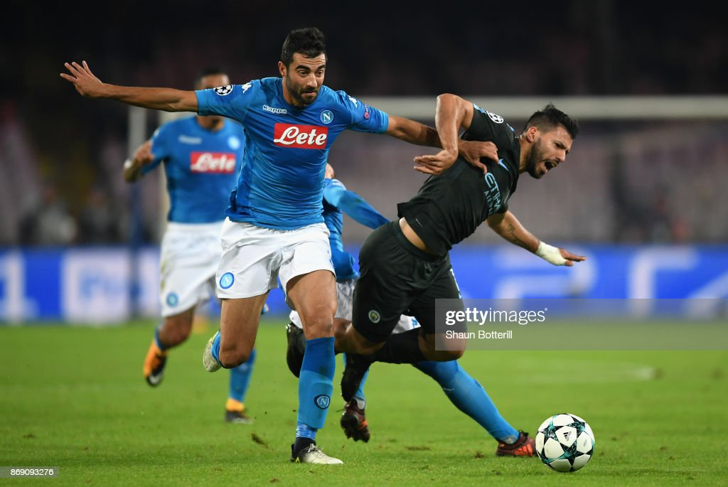 SSC Napoli v Manchester City - UEFA Champions League