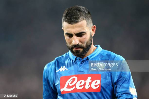 Raul Albiol of Ssc Napoli during the Serie A football match between Juventus Fc and Ssc Napoli. Juventus FC beat SSC Napoli 3-1.