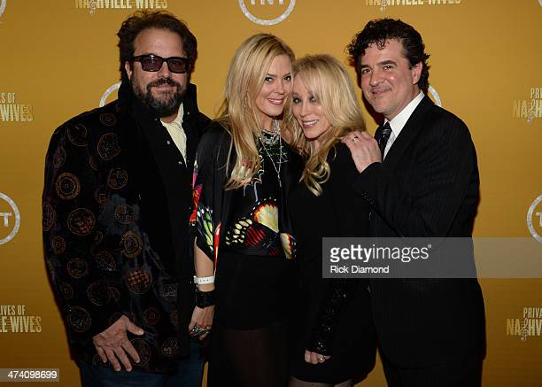 Raul and Betty Malo Sandi Spika Borchetta and Big Machine Label Group President CEO Scott Borchetta attend the official after party of the New Faces...