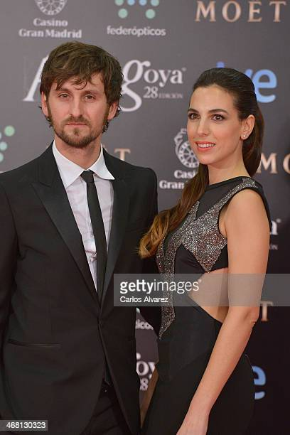 Raul Arevalo and Alicia Rubio attends Goya Cinema Awards 2014 at Centro de Congresos Principe Felipe on February 9 2014 in Madrid Spain