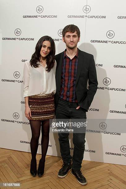 Raul Arevalo and Macarena Garcia attend Carmen awards by Germaine de Capuccini photocall at Cinema Academy on February 14 2013 in Madrid Spain
