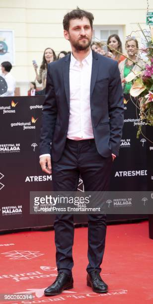 Raul Arevalo during the 21th Malaga Film Festival closing ceremony at the Cervantes Teather on April 21 2018 in Malaga Spain