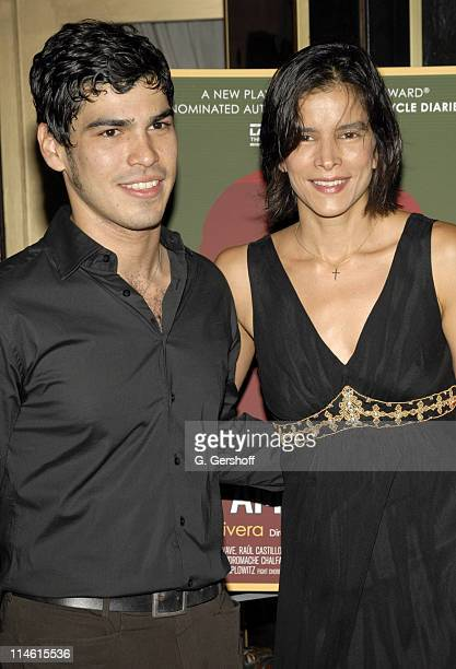 Raul Castillo and Patricia Velasquez during The Opening Night of the World Premiere of School of the Americas by Jose Rivera at Marions Continental...