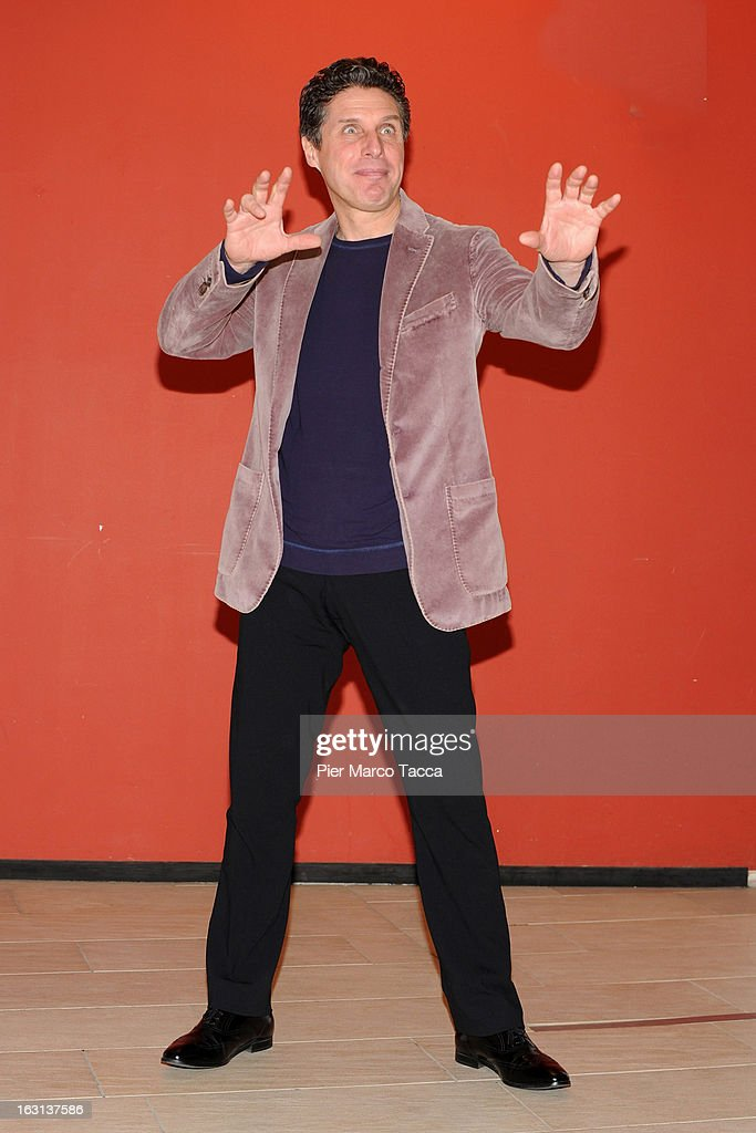 Raul Cremona attends a 'Ci vuole un gran fisico' photocall on March 5, 2013 in Milan, Italy.