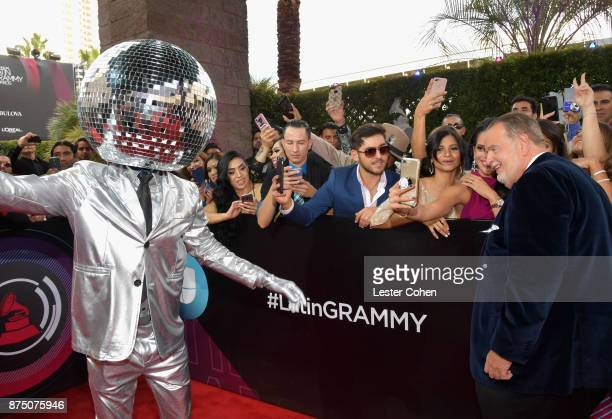 Raul De Molina attends The 18th Annual Latin Grammy Awards at MGM Grand Garden Arena on November 16 2017 in Las Vegas Nevada