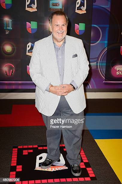 Raul De Molina attends Univision's Premios Juventud 2015 at Bank United Center on July 16 2015 in Miami Florida