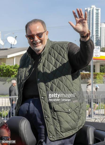 Raul De Molina is seen at the 2018 Three Kings Day Parade on January 14 2018 in Miami Florida