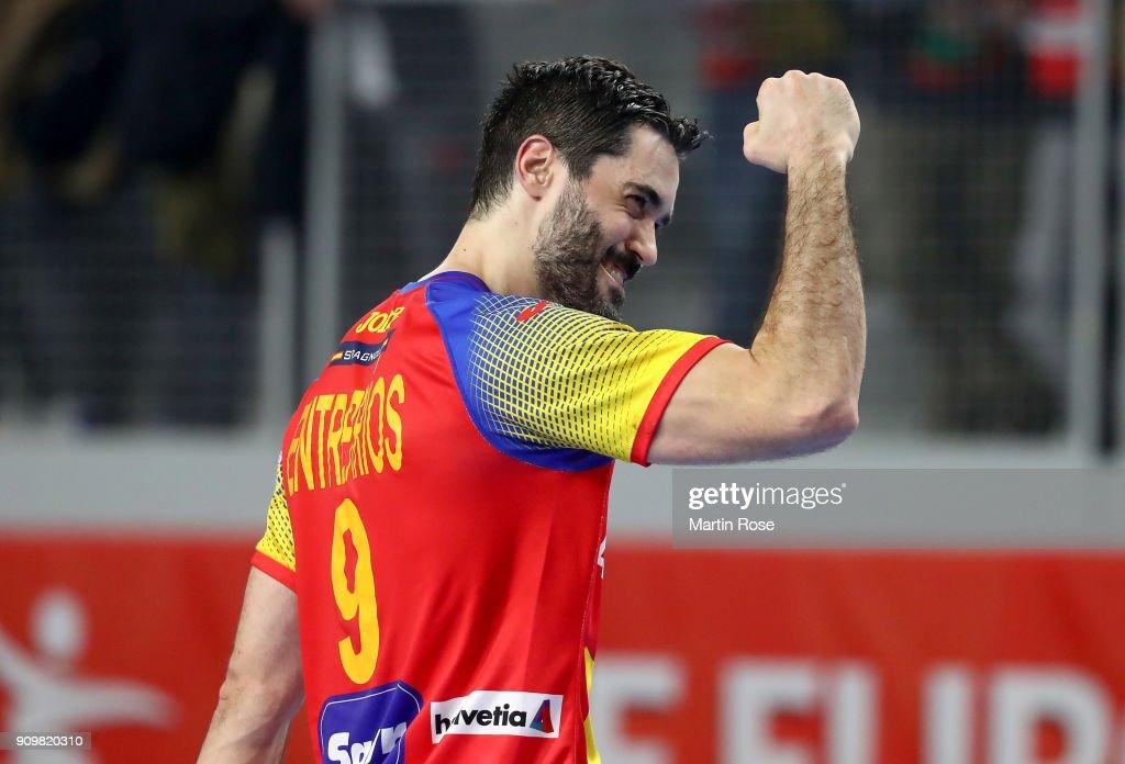 Germany v Spain - EHF Euro Croatia 2018