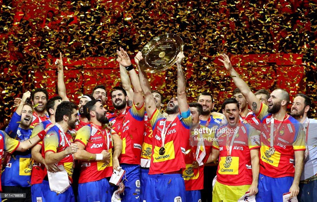 Spain v Sweden - EHF Euro Croatia 2018 Final