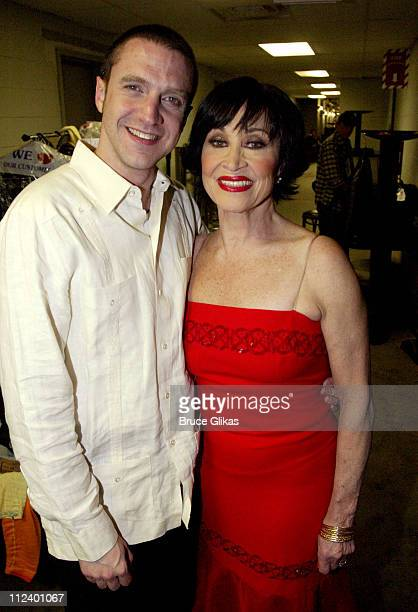 Raul Esparza and Chita Rivera during 'Latin Rhythyms II' to Benefit Broadway Cares/Equity Fights AIDS at BB King Blues Club and Grill in New York...