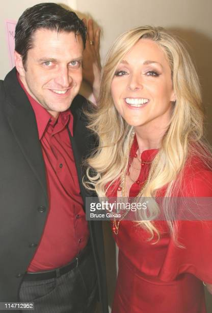 Raul Esparza and Jane Krakowski during MCC Theater Presents 'Miscast 2007' at The Hammerstein Ballroom in New York City New York United States