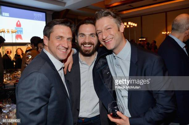 Raul Esparza Bill Curran and Peter Scanavino attend the Bailey House Gala Auction 2017 at Pier Sixty at Chelsea Piers on March 9 2017 in New York City